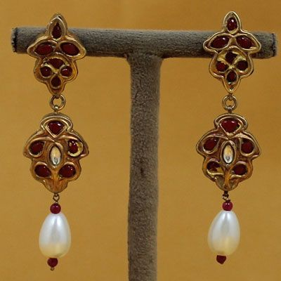 Traditional Sterling Silver Earrings