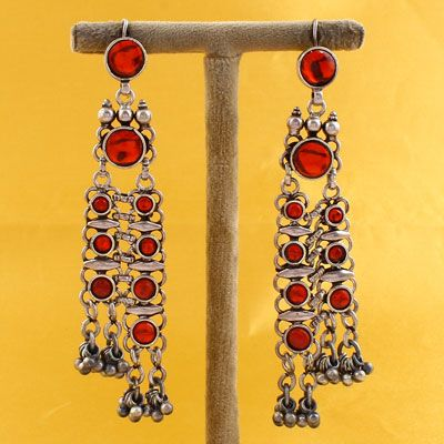 925 Silver Earrings With Stones
