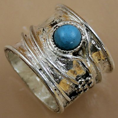 Pure Silver Ring With Stone
