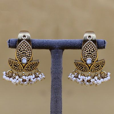 Sterling Silver Earring with Pearl