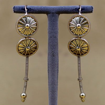 Traditional 925 Silver Earring
