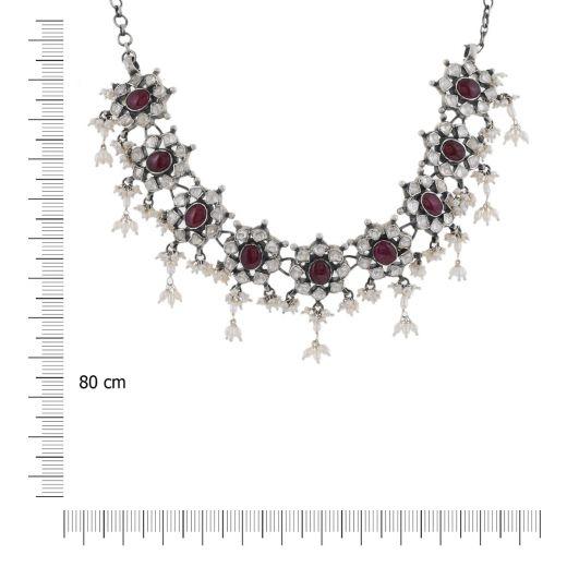 Sterling Silver Kundan Necklaces