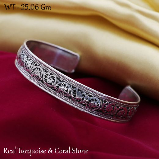 Handmade Antique Sterling Silver Cuff Bangles.