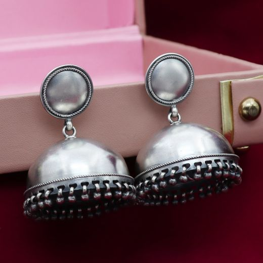 Sterling Pure Silver Jhumka