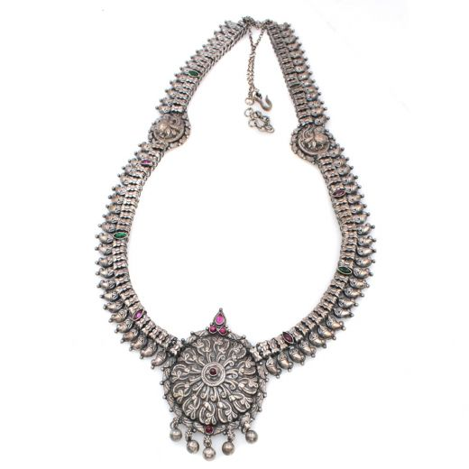 Rajasthani Pure Silver Necklaces