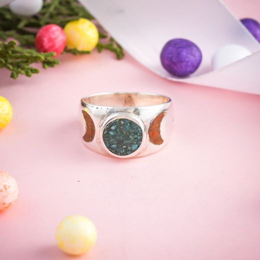 Handmade Pure Silver Ring -Indian Handmade Pure Silver Ring