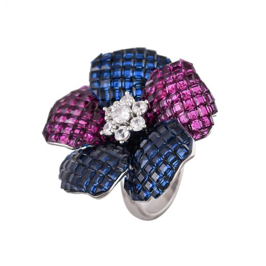 Pure Silver Stone Rings